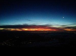 El vacío, la luna, el amanecer y la oscuridad
