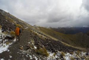 Caminando por entre las cumbres