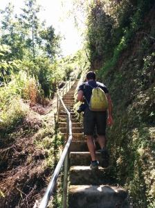 Atravesando las terrazas de Banaue