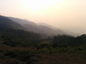 Montañas de humo