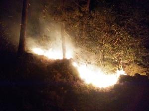 El fuego se acerca