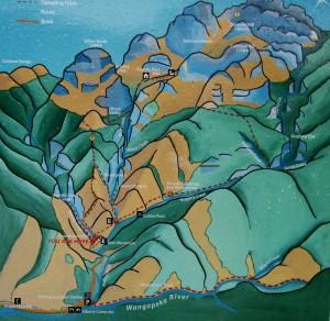 Ruta de subida hasta la cima del monte Owen (1895m)