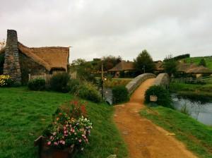 El puente hacia La posada del Dragón verde