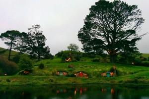 Cae la noche en Hobbiton