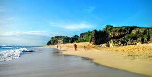 Playa al sur de Bali