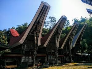Casas típicas de Toraja