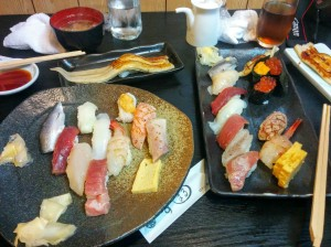 Delicioso sushi