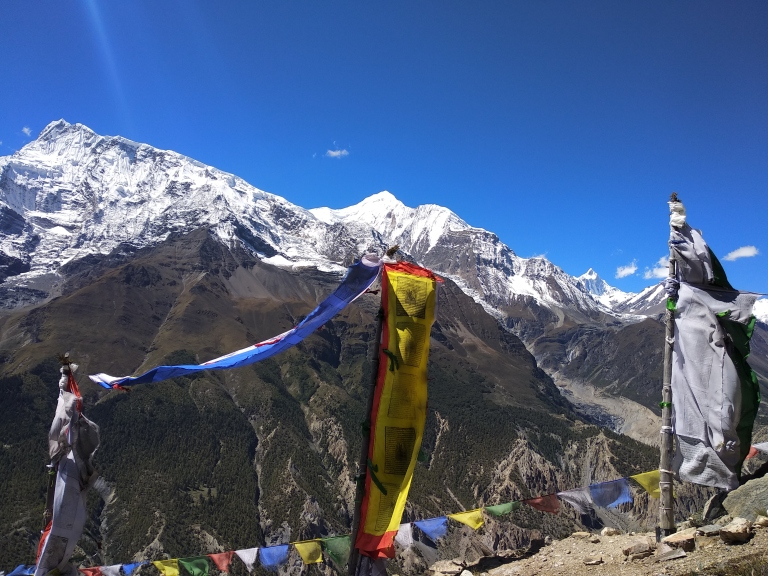 Annapurna III, Ganggapurna, Khangsar Kang